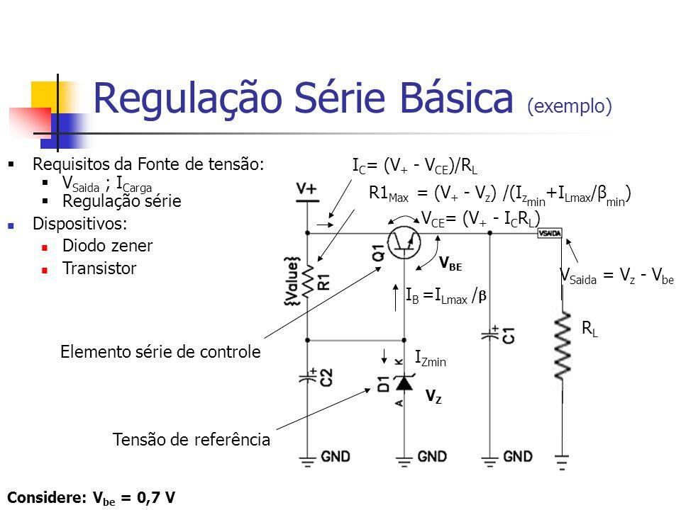 Regulação Série Básica (exemplo)