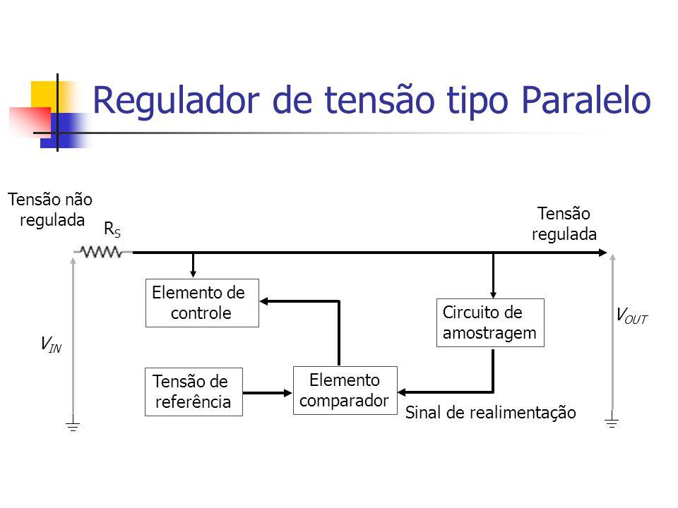 Regulador de tensão tipo Paralelo