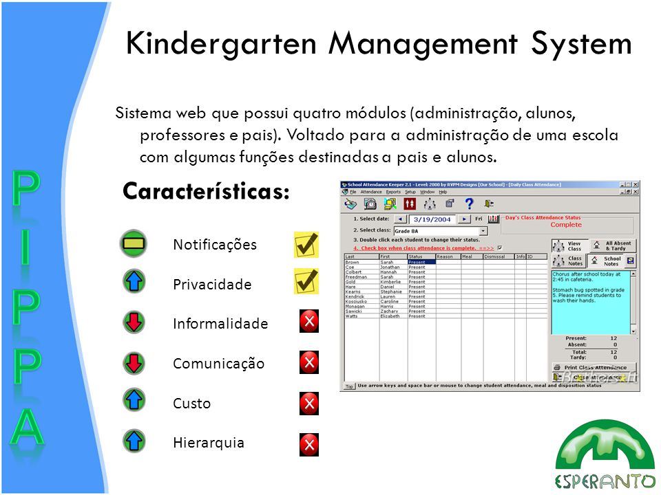 Kindergarten Management System