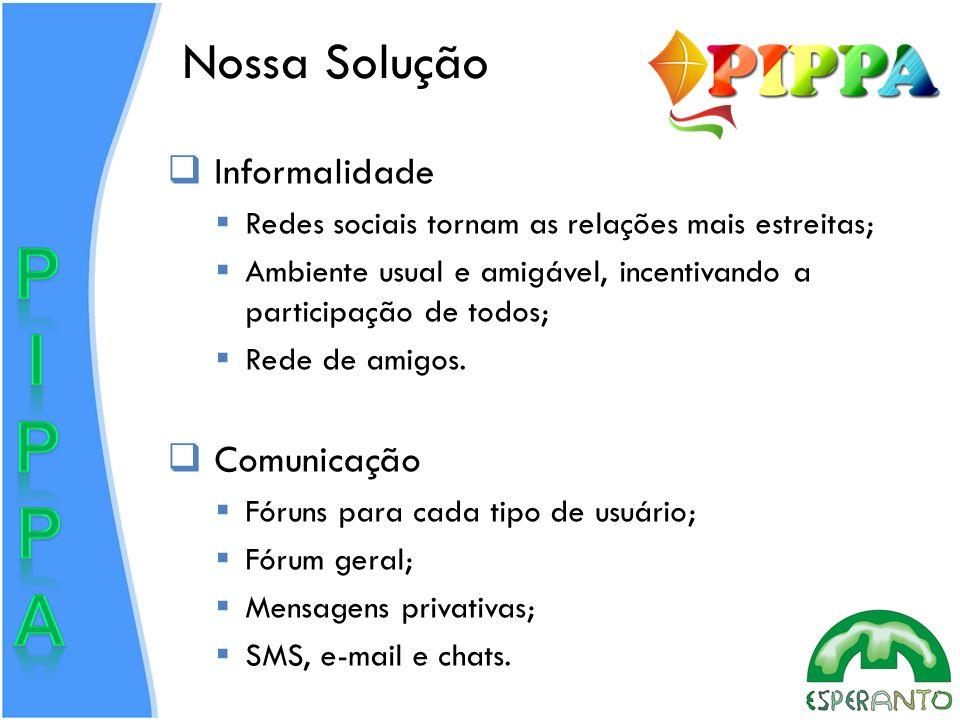 Nossa Solução Informalidade Comunicação