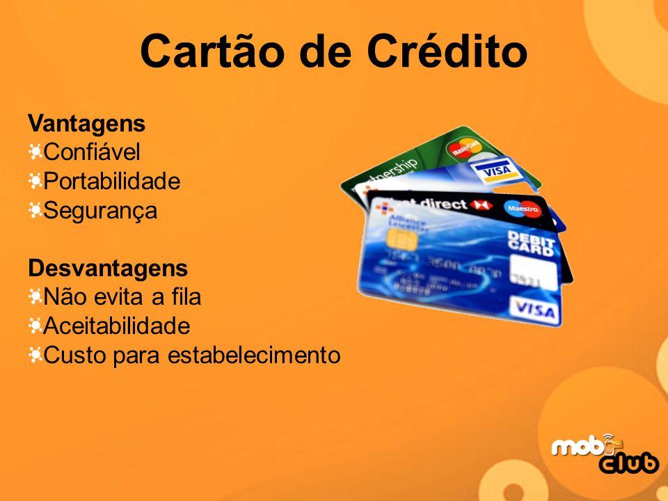 Cartão de Crédito Vantagens Confiável Portabilidade Segurança