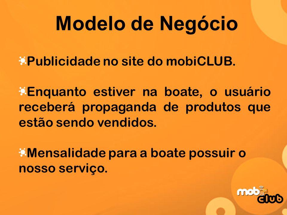Modelo de Negócio Publicidade no site do mobiCLUB.