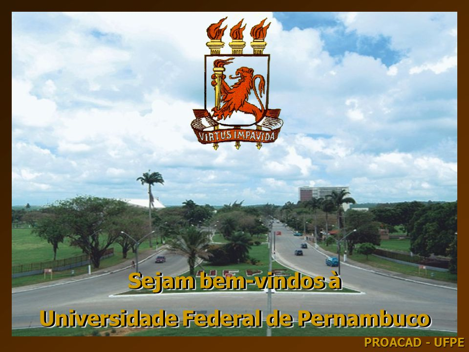 Universidade Federal de Pernambuco Universidade Federal de Pernambuco