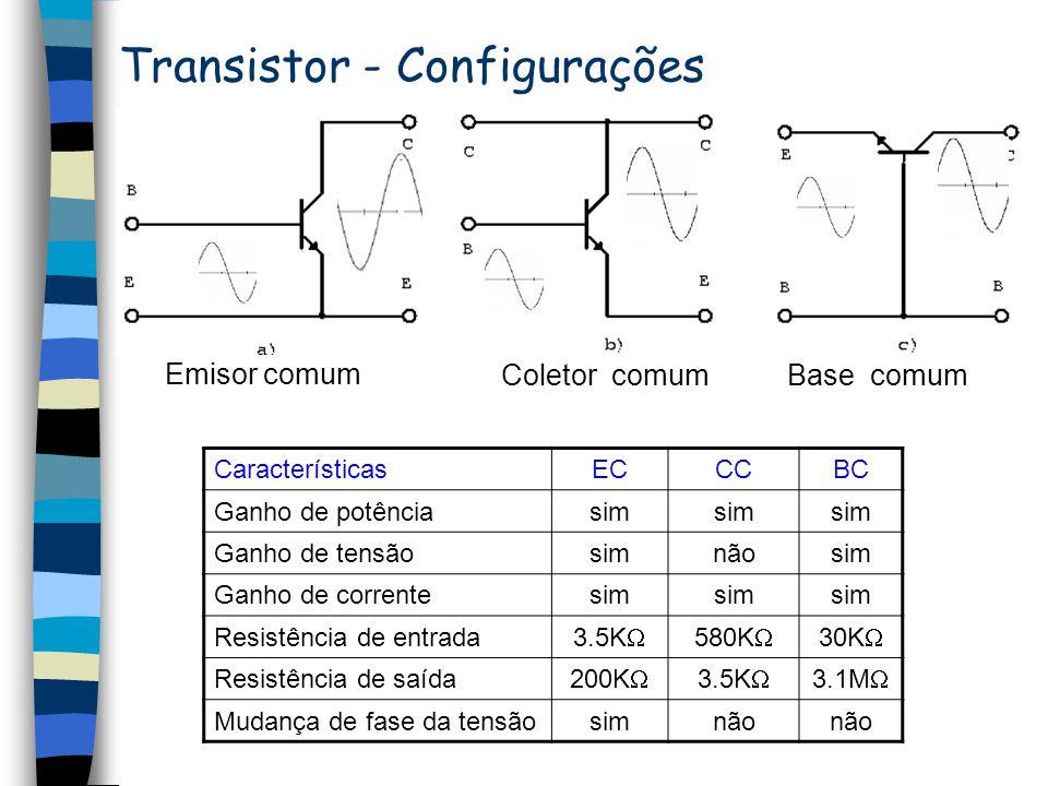 Transistor - Configurações