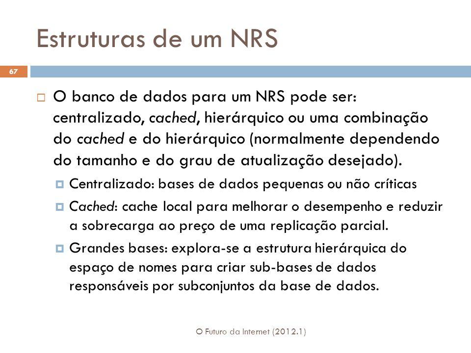 Estruturas de um NRS