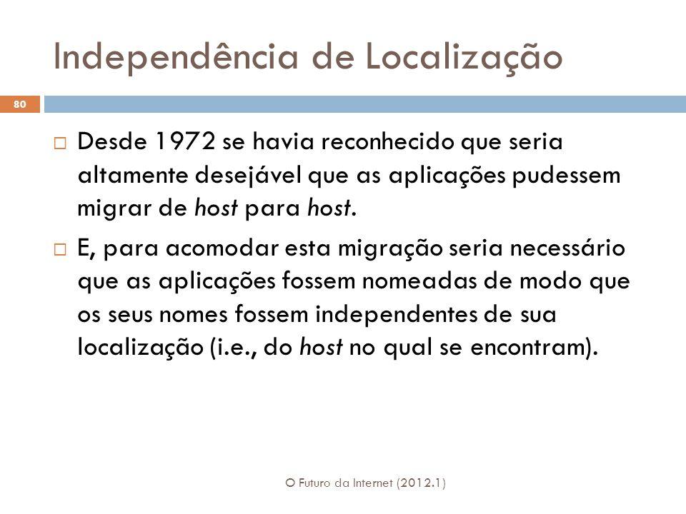 Independência de Localização