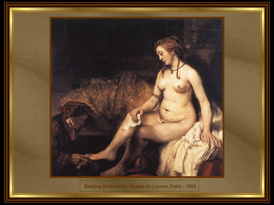 Bathing Bathsheba - Musée du Louvre, Paris - 1654
