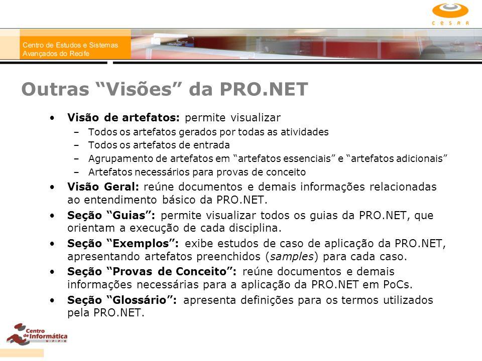 Outras Visões da PRO.NET