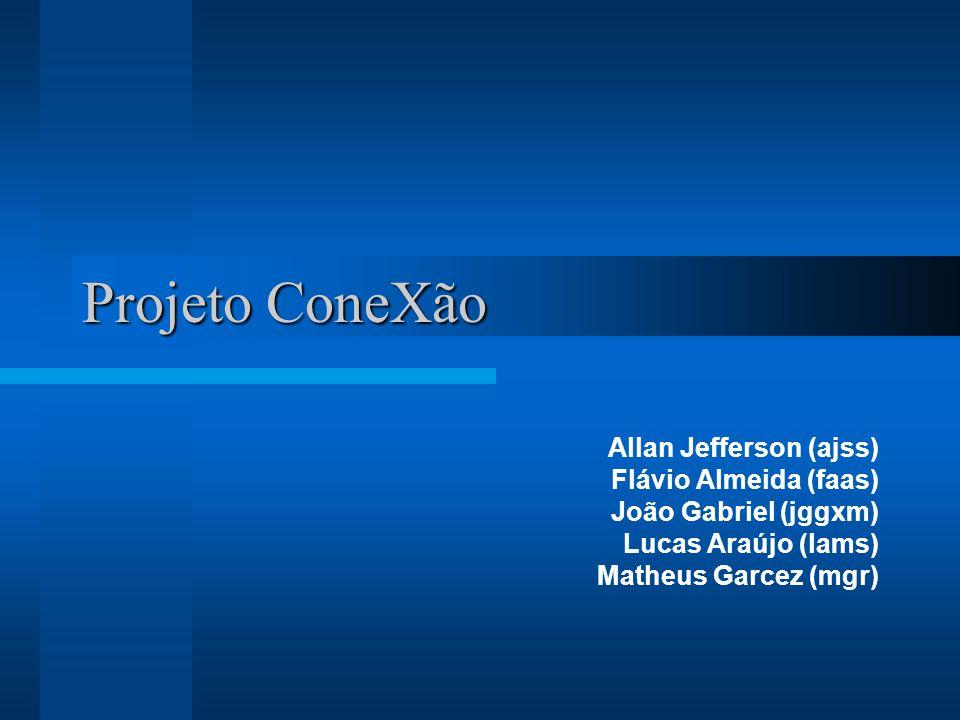 Projeto ConeXão Allan Jefferson (ajss) Flávio Almeida (faas)