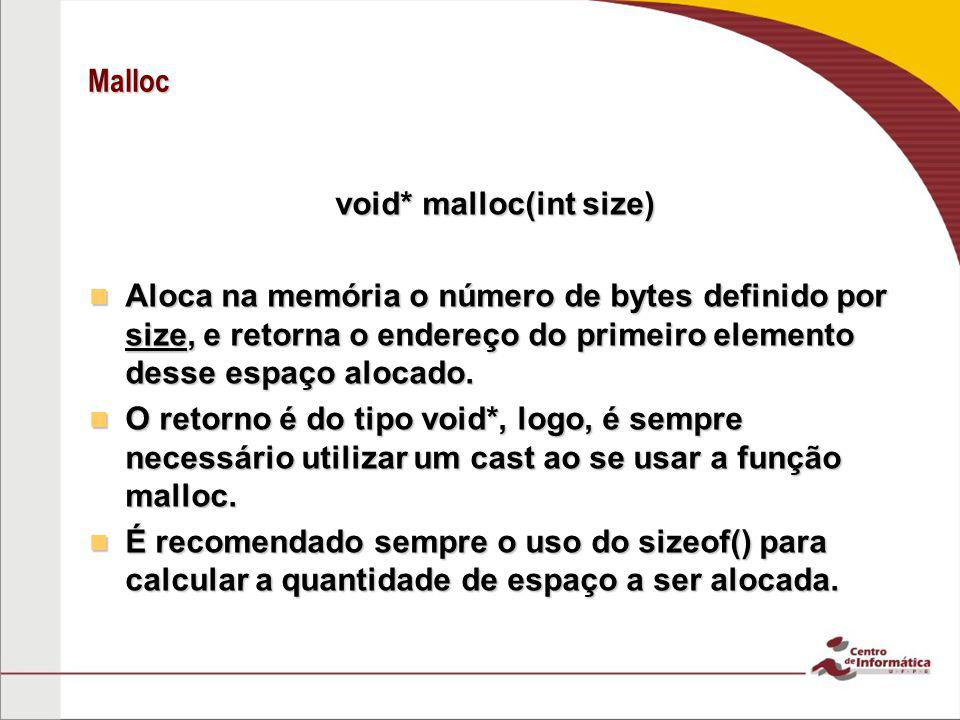 void* malloc(int size)