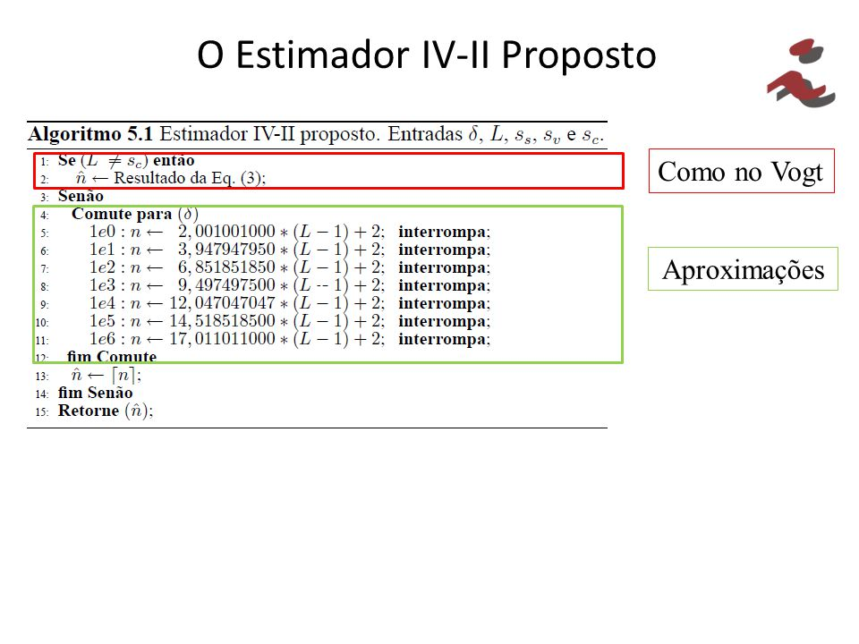 O Estimador IV-II Proposto