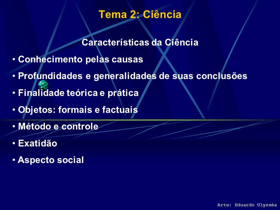 Características da Ciência