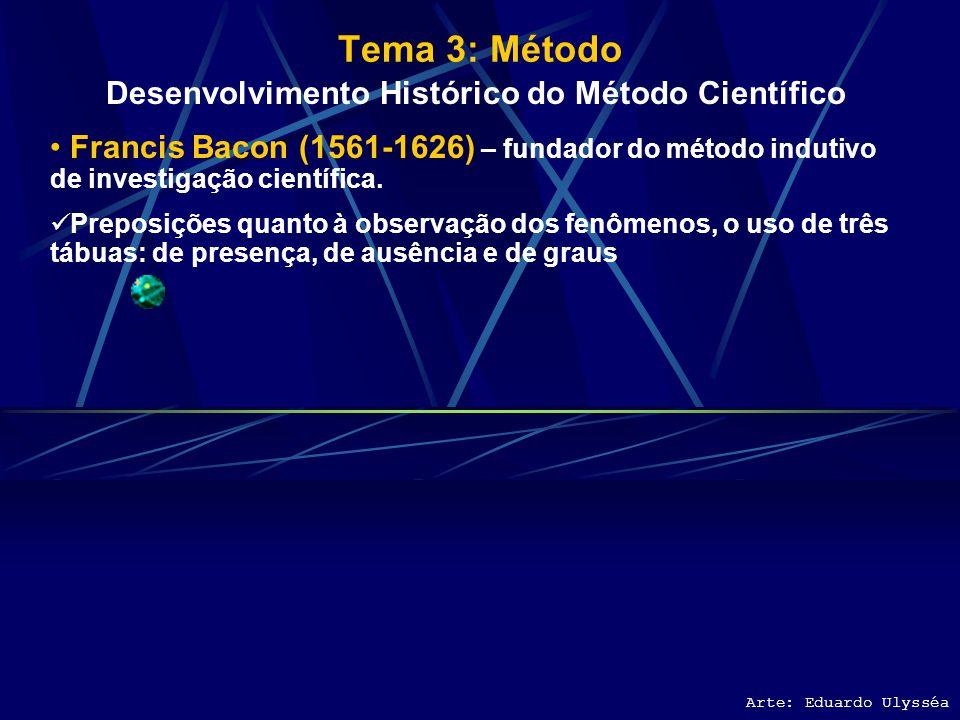 Desenvolvimento Histórico do Método Científico