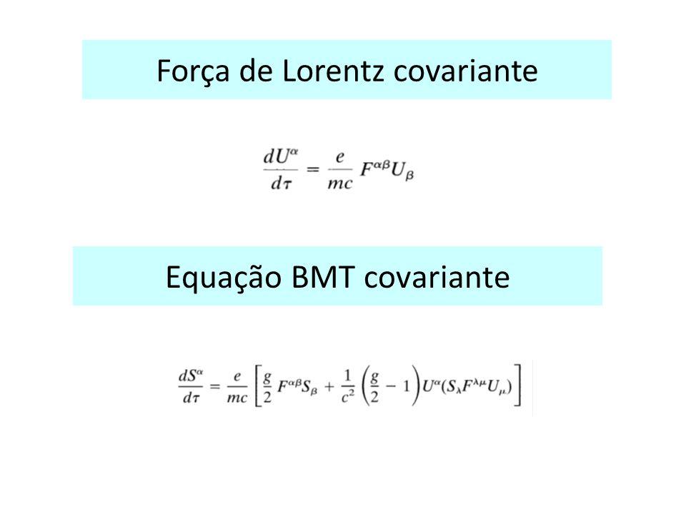 Equação BMT covariante