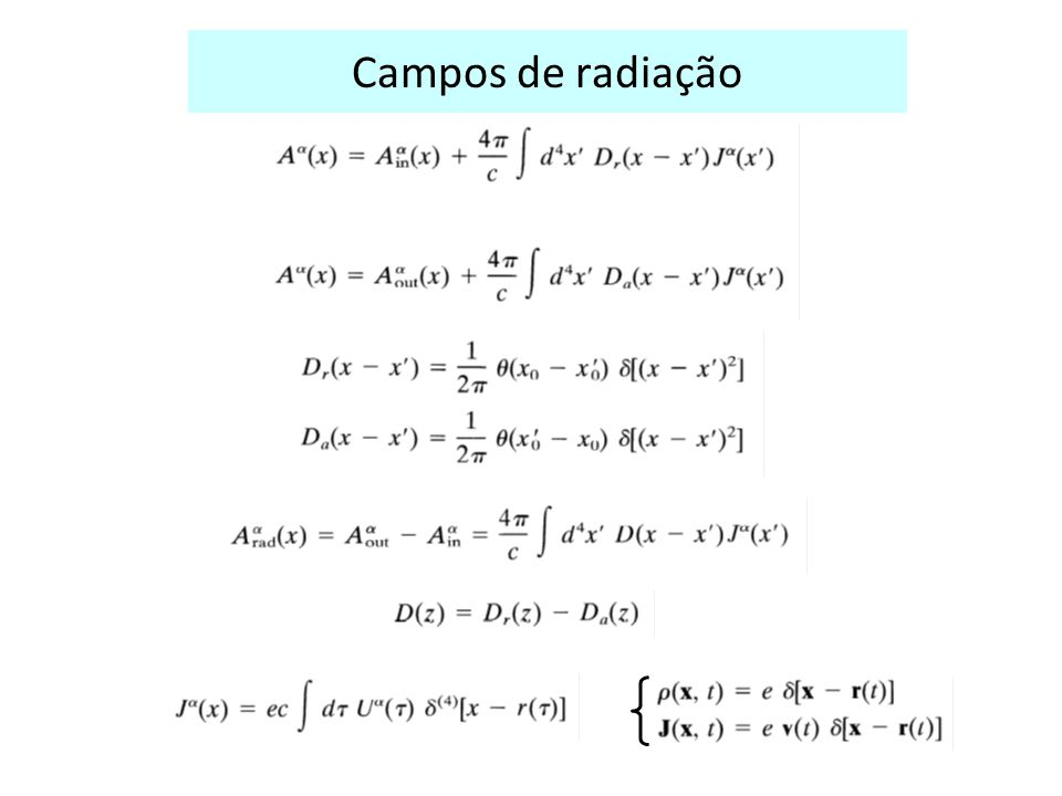 Campos de radiação