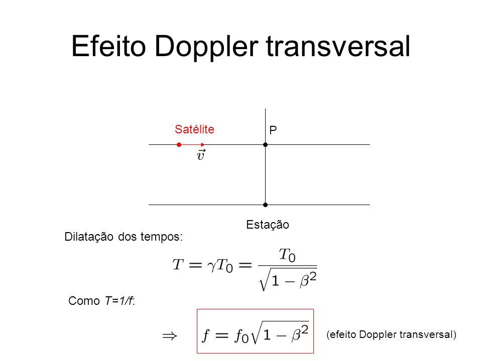 Efeito Doppler transversal