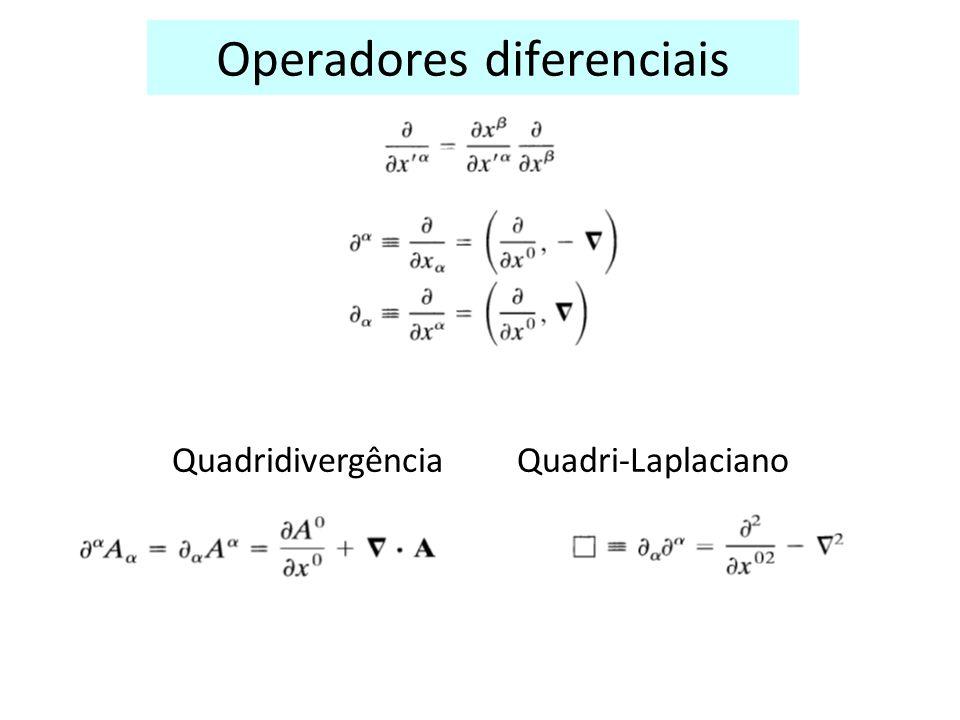 Operadores diferenciais