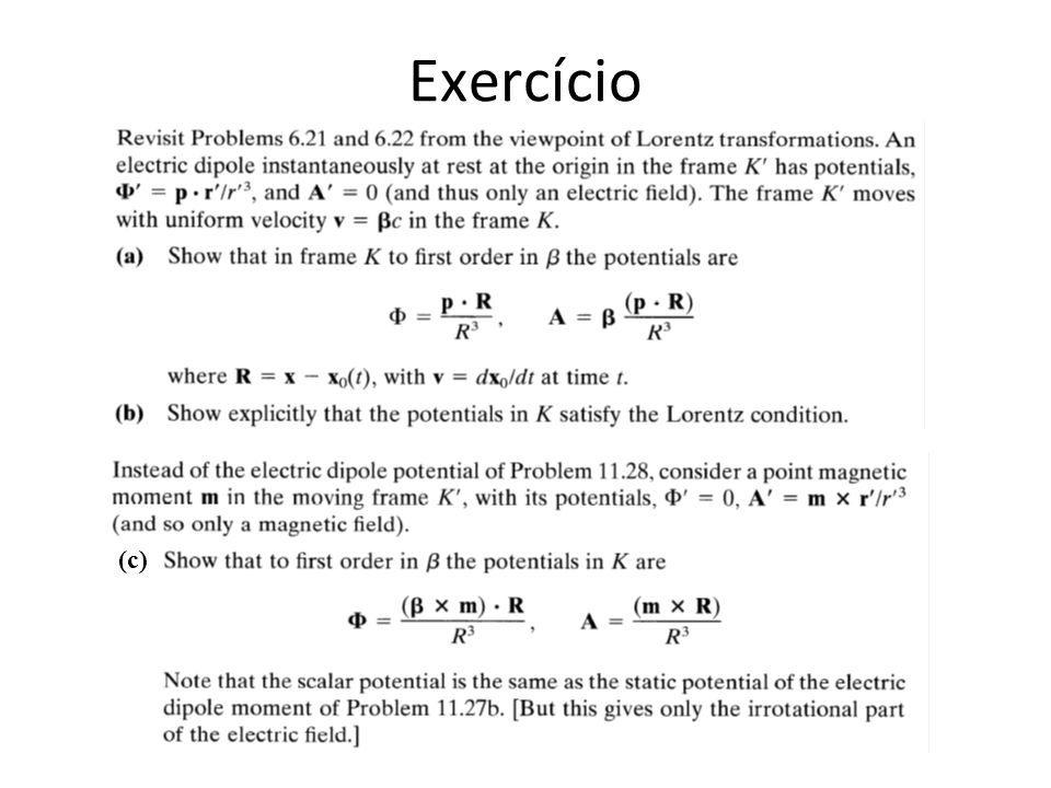 Exercício (c)