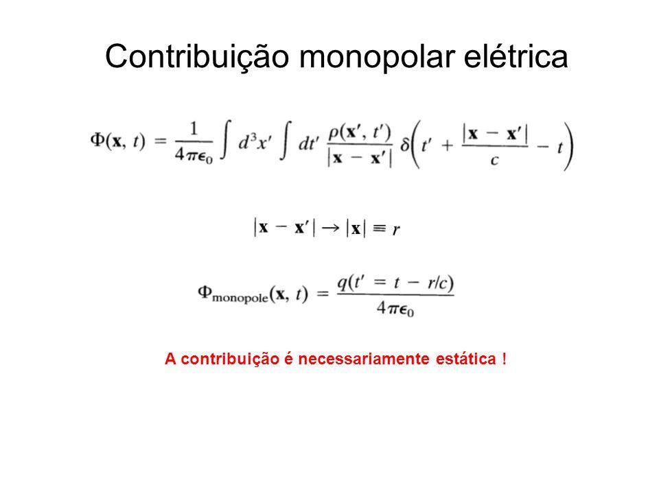 Contribuição monopolar elétrica