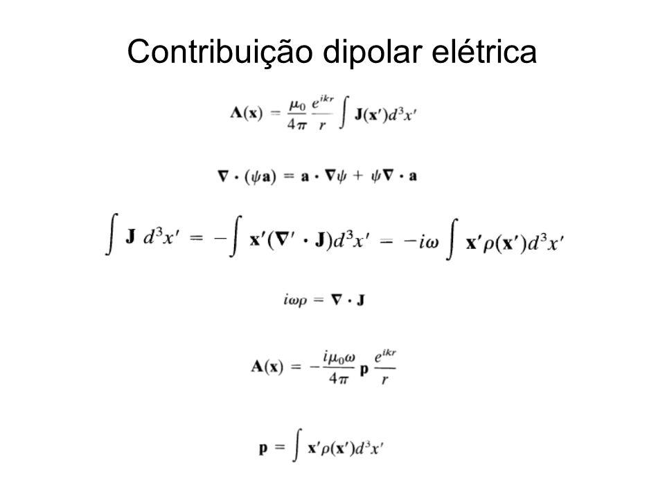 Contribuição dipolar elétrica
