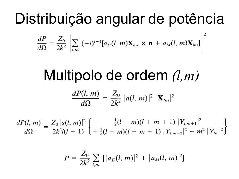 Distribuição angular de potência