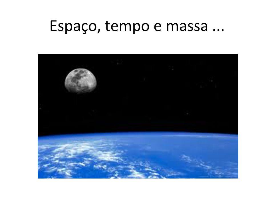 Espaço, tempo e massa ...
