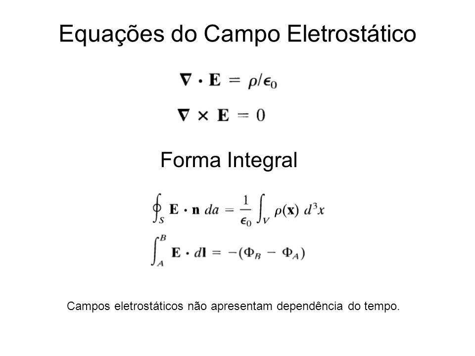Equações do Campo Eletrostático
