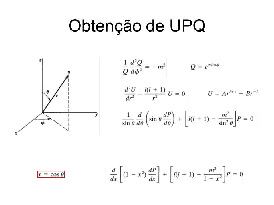 Obtenção de UPQ