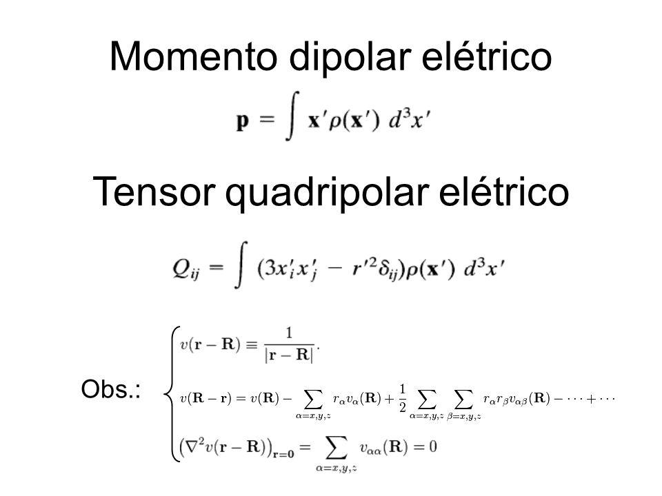 Momento dipolar elétrico