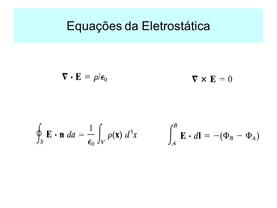Equações da Eletrostática