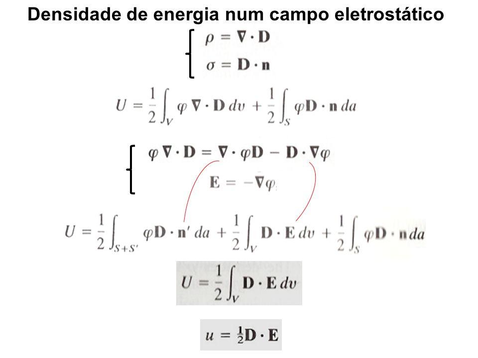 Densidade de energia num campo eletrostático