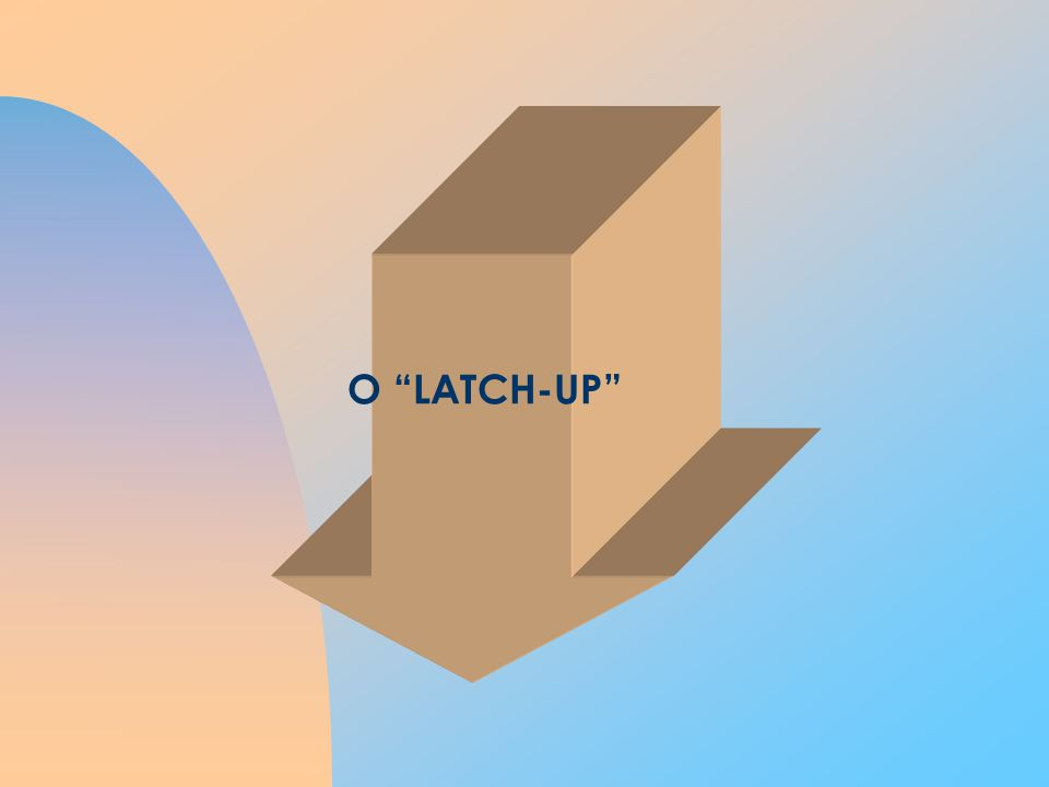 O LATCH-UP Latch-up