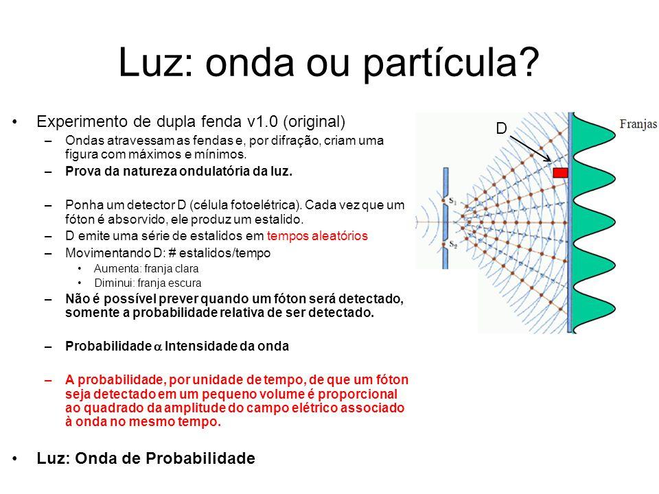 Luz: onda ou partícula Experimento de dupla fenda v1.0 (original) D
