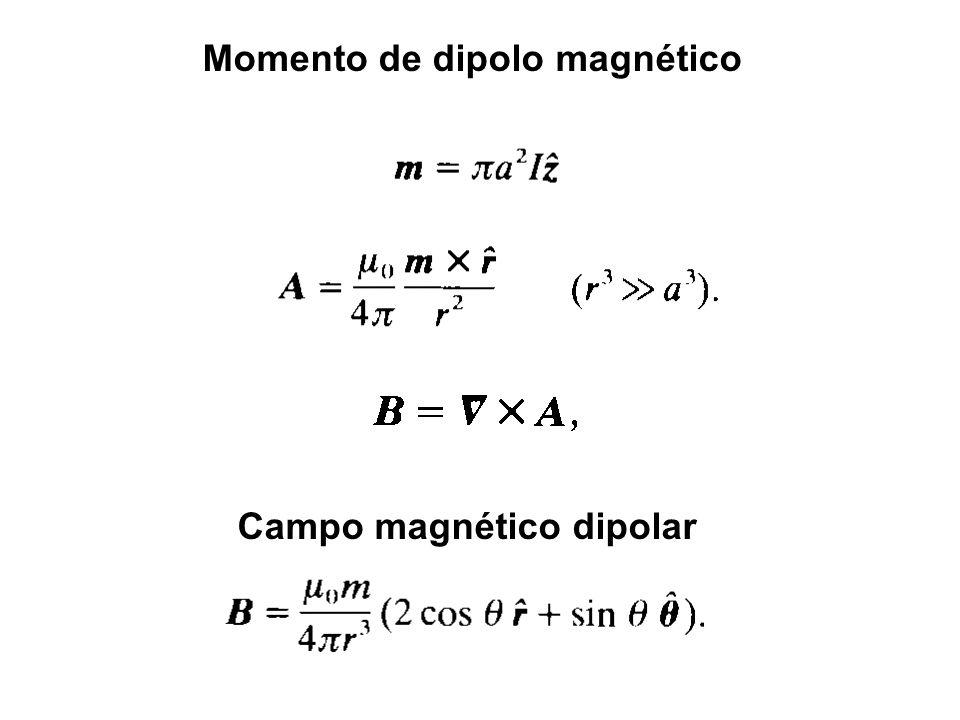 Momento de dipolo magnético
