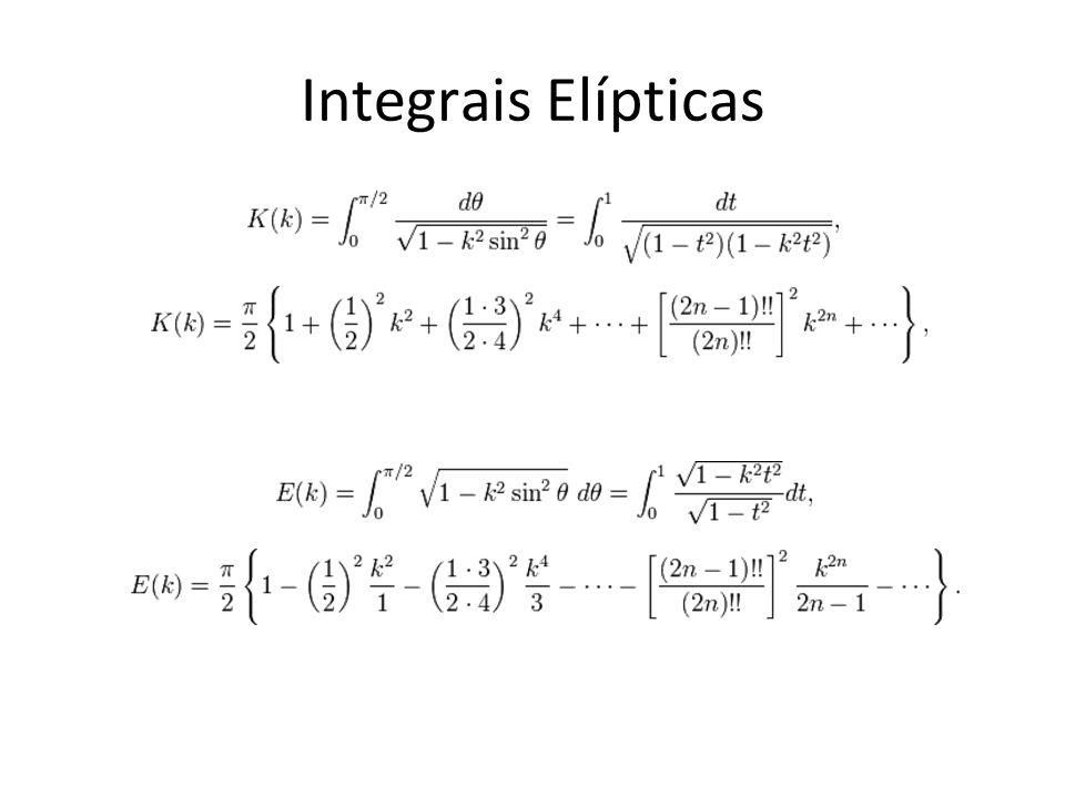 Integrais Elípticas