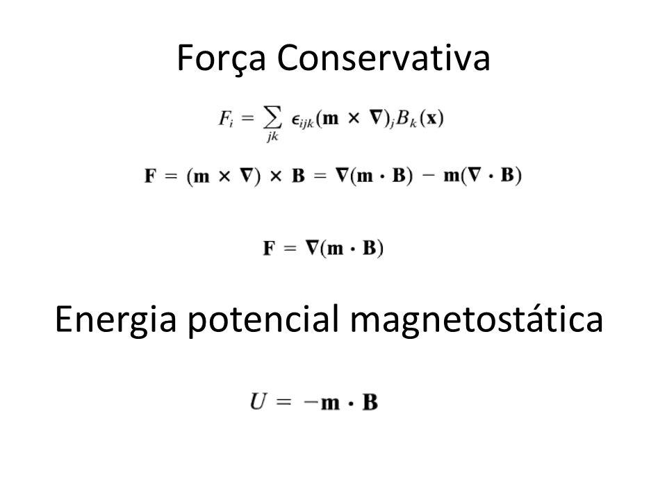 Energia potencial magnetostática