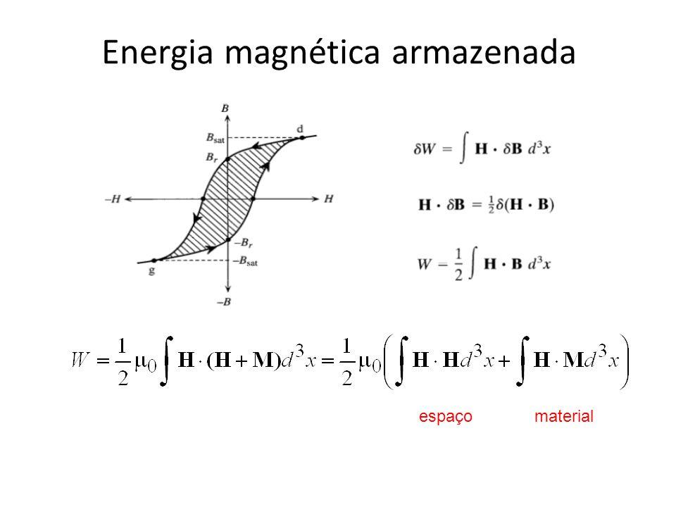 Energia magnética armazenada
