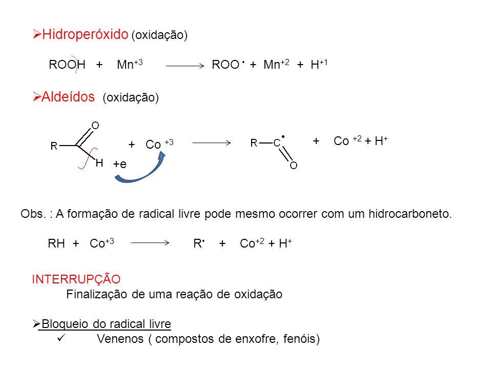 Hidroperóxido (oxidação)
