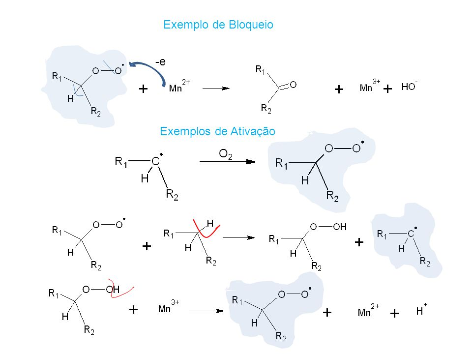 Exemplo de Bloqueio -e Exemplos de Ativação O2