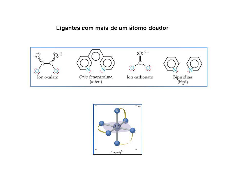 Ligantes com mais de um átomo doador