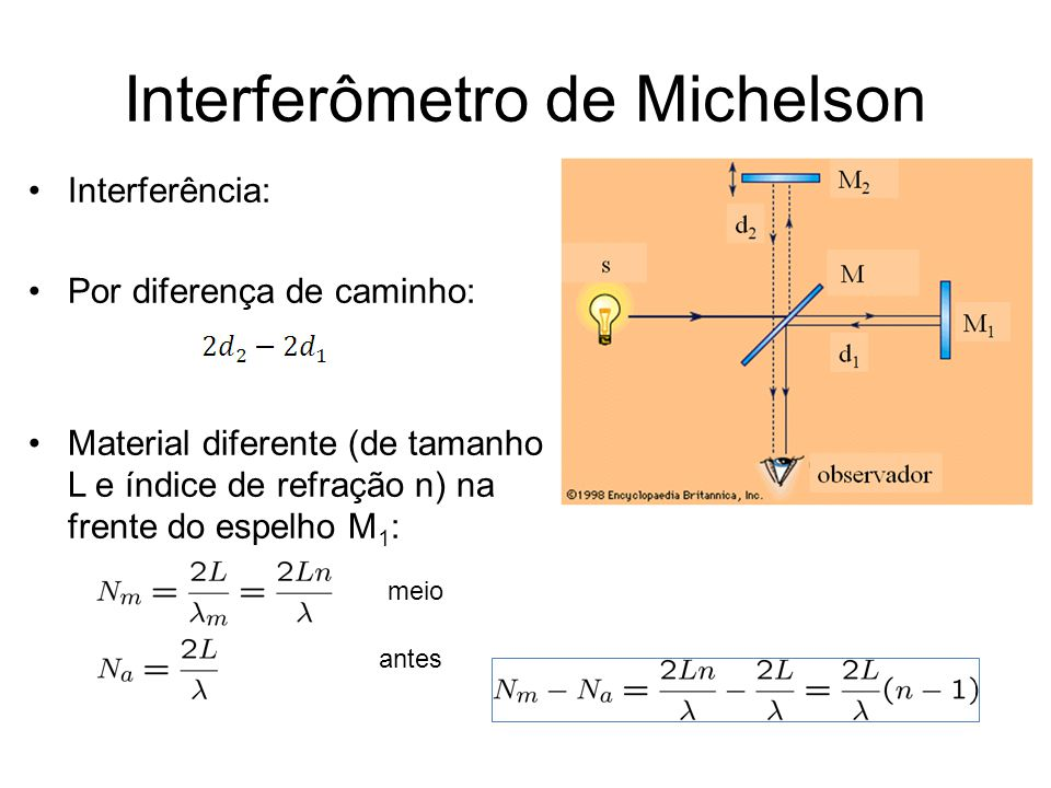 Interferômetro de Michelson