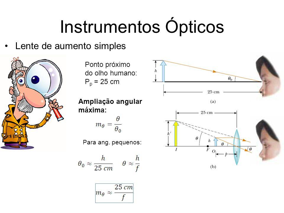 Instrumentos Ópticos Lente de aumento simples