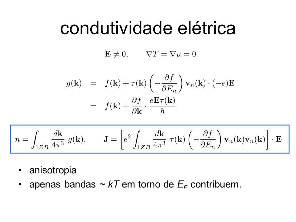 condutividade elétrica