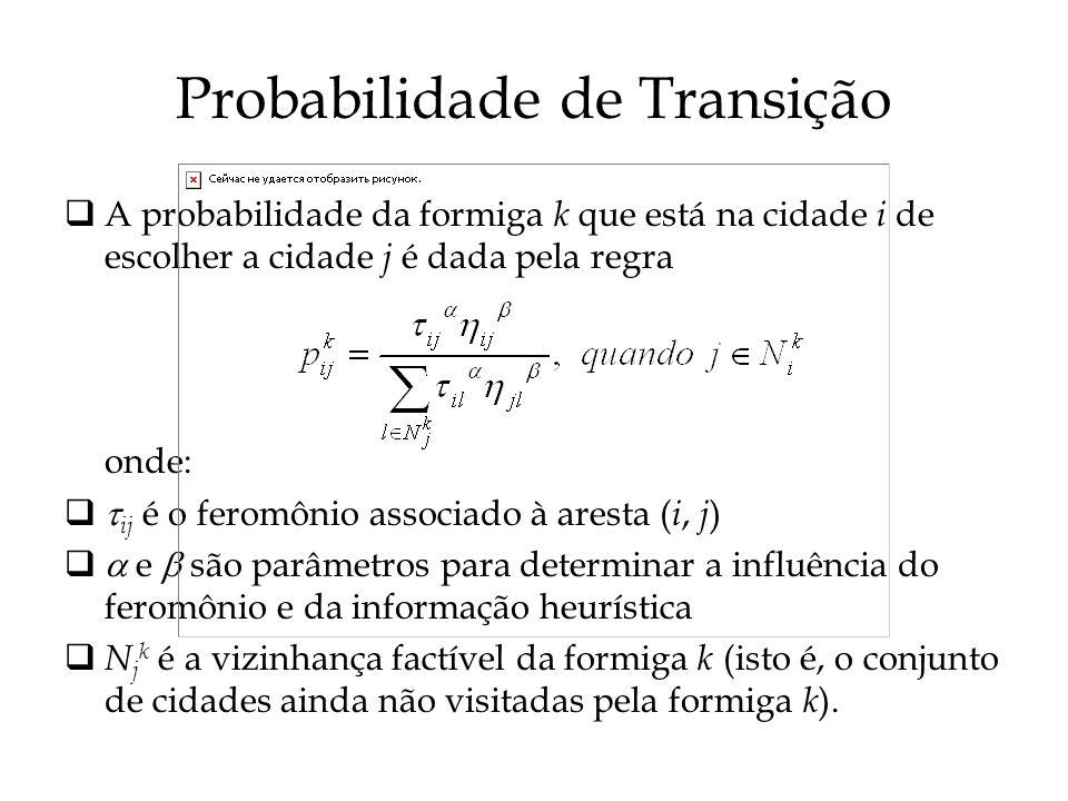 Probabilidade de Transição