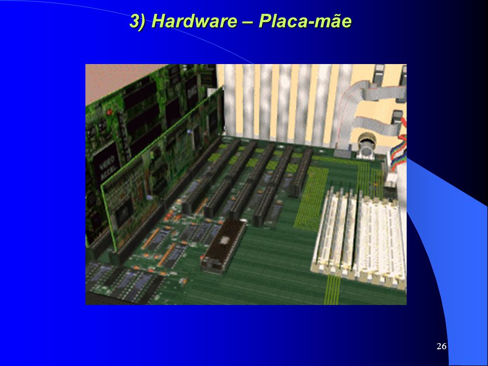 3) Hardware – Placa-mãe