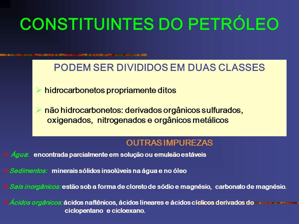 CONSTITUINTES DO PETRÓLEO