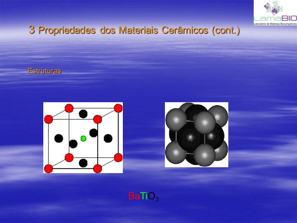 3 Propriedades dos Materiais Cerâmicos (cont.)