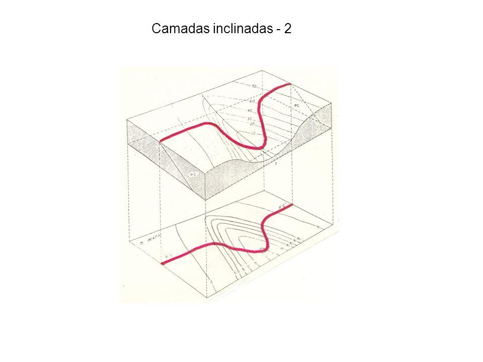 Camadas inclinadas - 2