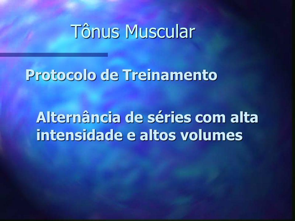 Tônus Muscular Protocolo de Treinamento