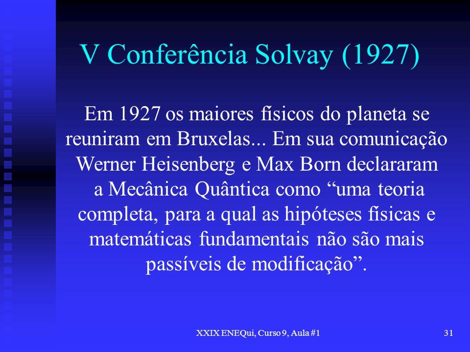 V Conferência Solvay (1927)